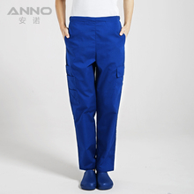 2017 New Design Multi Pocket Operation Room Doctor Pants Hospital Scrub Trousers Plus Nurse Pants Lab Uniform Medical Bottoms