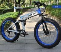 Электрический велосипед электрический снегоход 26 дюймов 26x4,0 жира 10AH часы литиевая батарейка Скрытая батарея 350 Вт Электрический велосипед ...