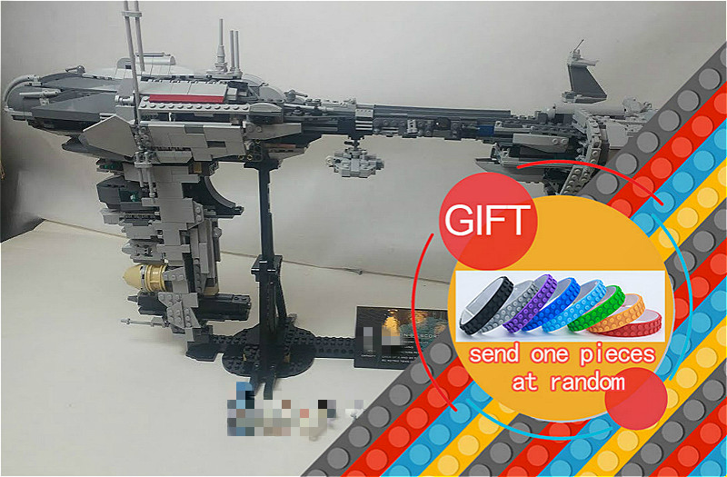 05083 1736Pcs Star Series War The Nebulon-B Medical Frigate Set children Educational Building Model toys lepin rollercoasters the war of the worlds