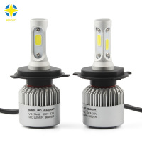 2 X H1 H3 H4 H7 H11 H13 9004 9007 8000Lm 6500k 72W Car Headlight Light
