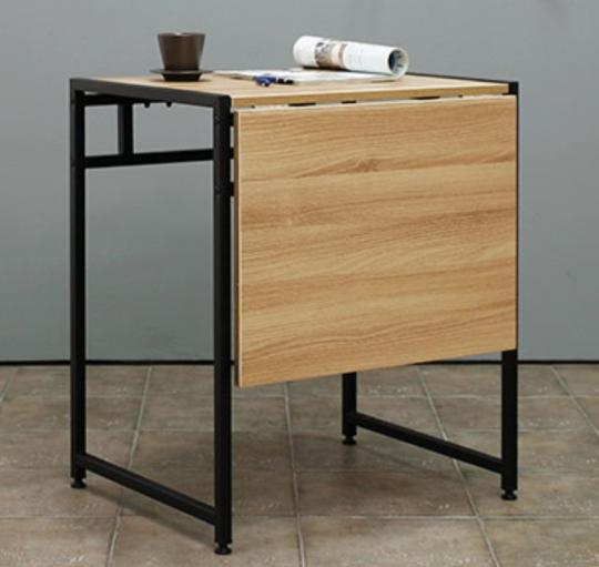 Mesa plegable de comedor doble simple moderna mesa telescópica de ...