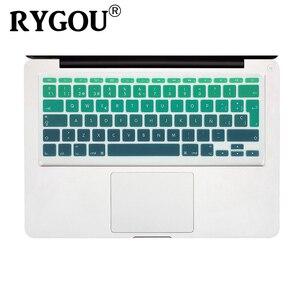 Espanhol e inglês iso europeu layout capa de teclado protetora pele compatível para macbook air 11 Polegada (modelos: a1370 e a1465)