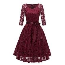 Jesienne sukienki na powrót do domu CG00116 New Arrival zimowa koronkowa linia z dekoltem w serek tanie krótka imprezowa, koktajlowa suknie z rękawami