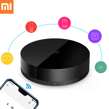 Xiaomi AI Intelligent Universal Smart Remote Controller WiFi Infrared Switch Voice APP Control 360 Degree for Air Conditioner TV broadlink a1 e air air switch quality detector filter testing air humidity pm2 5 app control by wifi infrared home automation