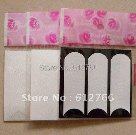 nail french sticker nail sticker  3 styles