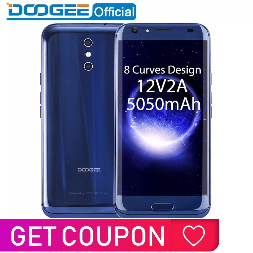 DOOGEE BL5000 Dual Câmera Android 7.0 5050 mAh 12V2A 13.0MP MTK6750T Quick Charge 5.5 ''FHD Octa Núcleo 4 GB 64 RAM GB ROM Smartphones