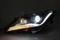 Для Toyota Camry Aurion бар света фары 2012 год V2 автомобиля задние фонари в сборе LF