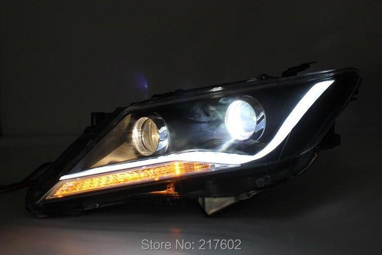 Pour Toyota Camry Aurion bar phares phares 2012 année V2 voiture lumières assemblage LF