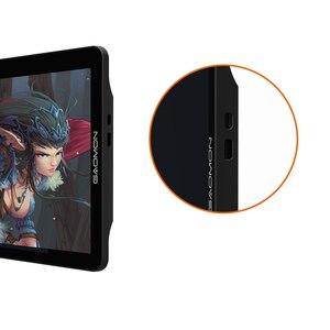 Image 4 - GAOMON PD1560 monitor tablet de artes gráficas 15,6 polegadas IPS HD, tela sensível 8192 com níveis de pressão & luva de tablet de desenho