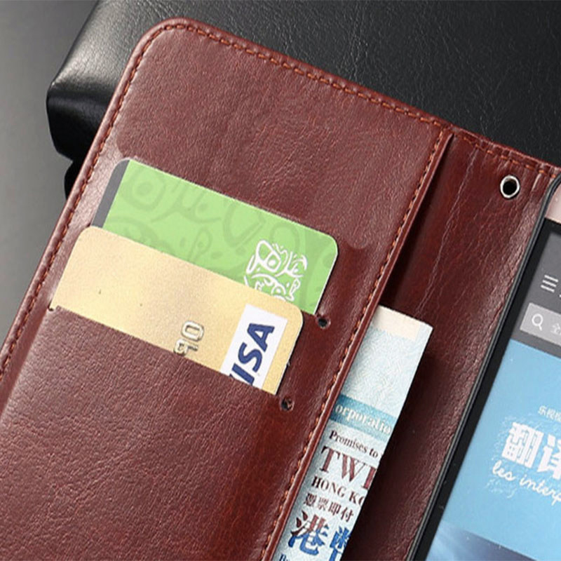 QIJUN Brand Case For Xiaomi Redmi 4 4A Note 4 4X redmi 5 5A Pro Cover Luxury PU Leather Retro Wallet Flip Stand Phone Cases Bag in Flip Cases from Cellphones Telecommunications
