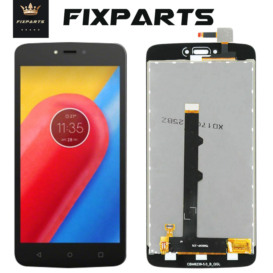 ORIGINAL C Plus <font><b>XT1723</b></font> LCD For Motorola Moto C Plus LCD Screen Display WIth Touch Glass Digitizer Assembly For Moto C LCD XT1754 image