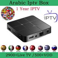 1 year iptv code m3u subscription arabic iptv box portugal france poland sweden Australia 4000+channels vod 4K media player