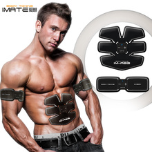 Фотография JYT IMATE Abdominal Waist Body Muscle electrical stimulation EMS Auto Trainer Smart Fitness Apparatus USB charge massager IM-05