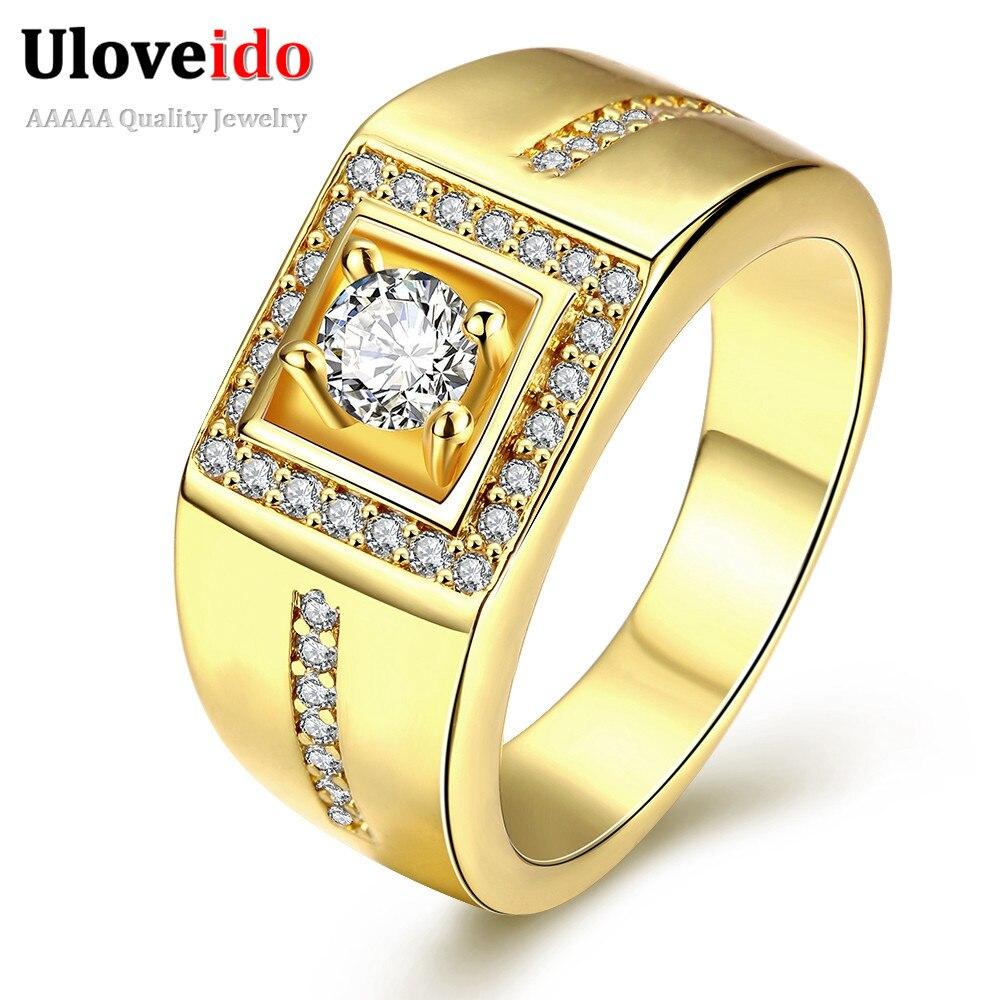 Square Wedding Rings For Men