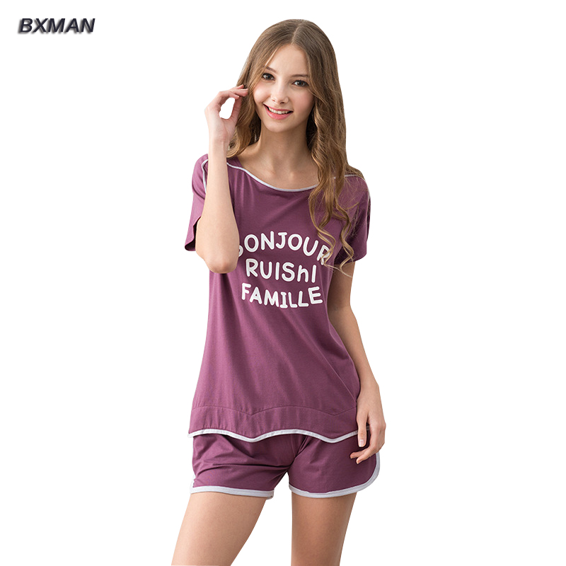 Online Get Cheap Short Sleeve Pajamas for Women -Aliexpress.com ...