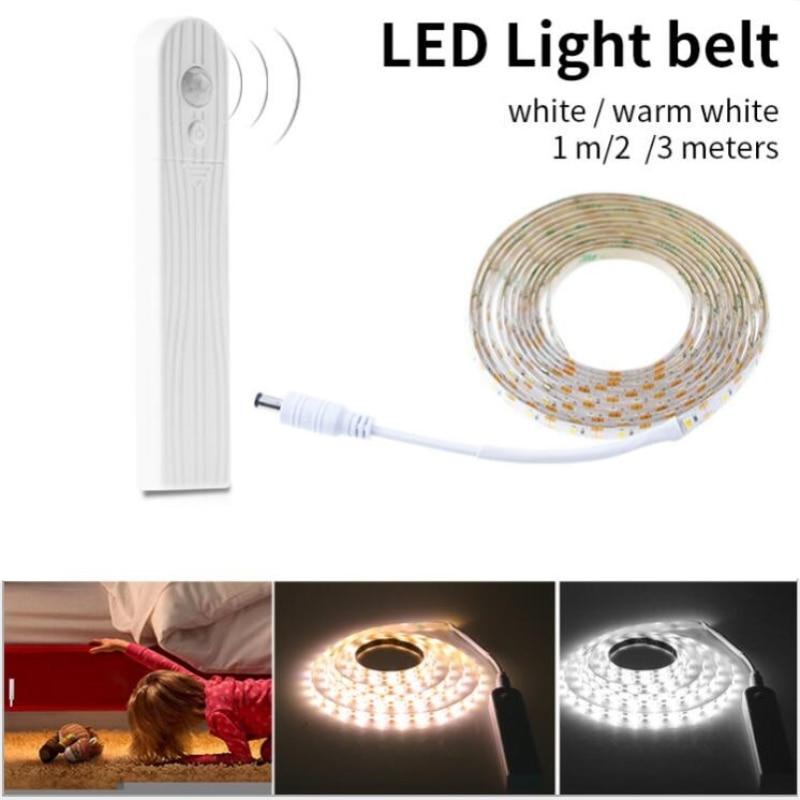 Hot Sale 5V 1M 2M 3M Sensing Distance LED Strip Light Lamp SMD2835 Christmas Desk Decor Lamp Tape For TV Background Lighting