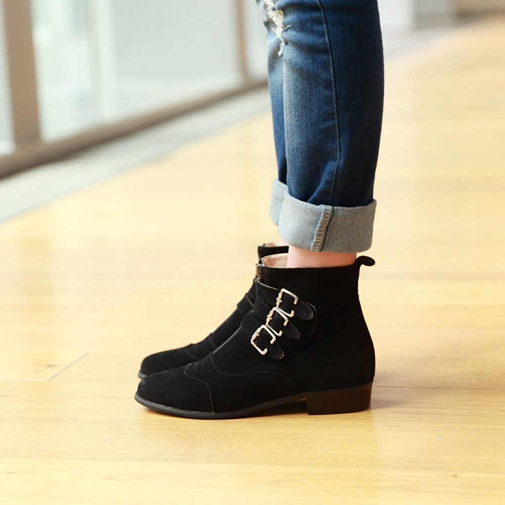 Ankle Boots Flat Heel | FP Boots