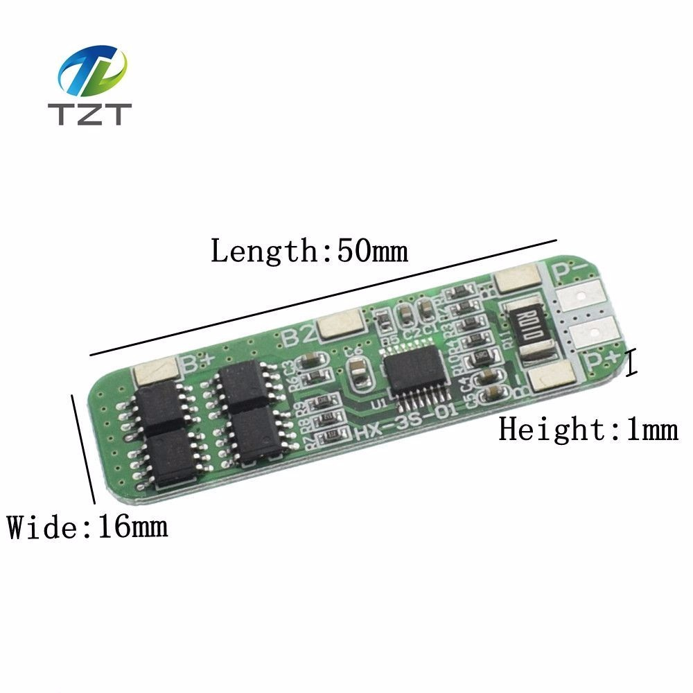 3S 6A Li-ion Lithium Battery 18650 Charger Protection Board Module 10.8V 11.1V 1