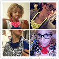 Handmade Cotton Necklace Chockers 2016 Shourouk Statement Necklace Fashion Jewelry Necklaces&Pendants Christmas Gifts Ras De Cou