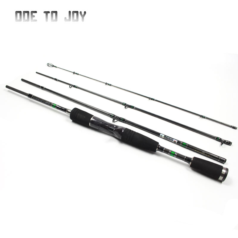 ФОТО 1.98M  Lure Rod M Power 4 Section Carbon Spinning Fishing Rod Travel Rod Casting Fishing Pole Vava De Pesca Saltwater Rod