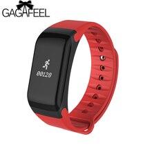 Gagafeel F1 Smart Watch Blood Pressure Monitor Smart Bracelet for Women Men Heart Rate Monitor Smart