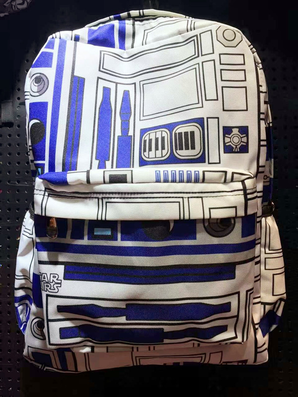 2018 Rushed School Mochila Feminina Starwars Star Wars: The Force Students Awakening R2d2 Backpack Bag Large Capacity To Travel