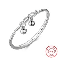 Jewelry Fashion 100 Sterling Silver 925 Fit Pandora Fashion Personality Bracelet Girl Gifts Environmental Protection