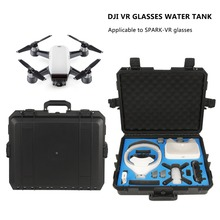 RCYAGO Safety Shipping Travel Hardshell Case Suitcase For DJI Goggles VR Glasses Storage Bag Box for DJI Spark drone Accessories