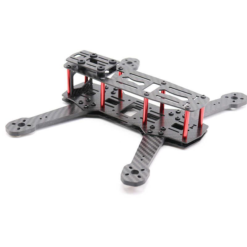 TCMMRC 5-calowy dron rama QAV250 ZMR250 hydrauliczny zestaw ze szkieletem grubość 5mm ramię z włókna węglowego dla FPV Racing Drone Quadcopter