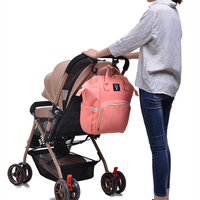 Multi Function Large Mummy Bag Baby Stroller Hanging Storage Bag Waterproof Diaper Milk Bottle Nursing Bag Stroller Travel Bag