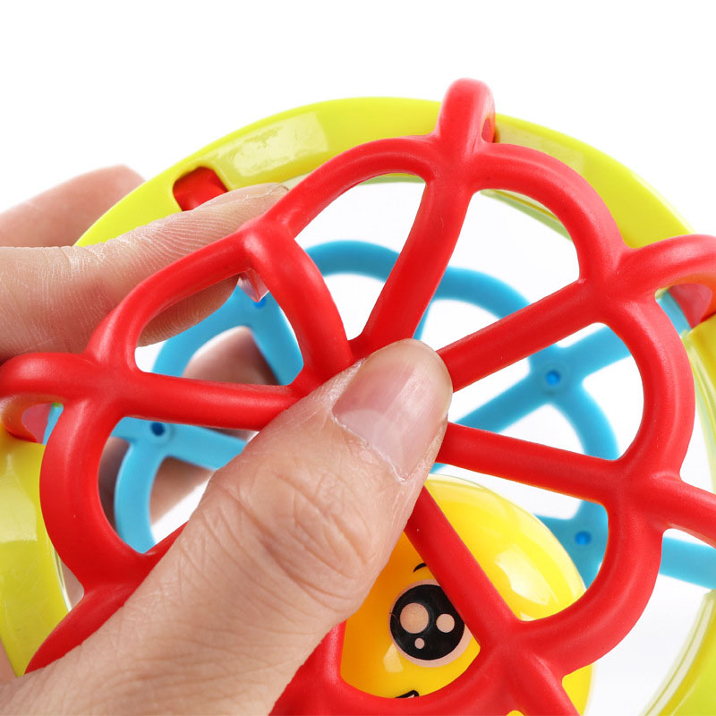 Rattle Ball Musical Fitness Ball Toy Hand Grasp Exercise Bright Colors Pacify Rattle 88 YJS Dropship in Baby Rattles Mobiles from Toys Hobbies