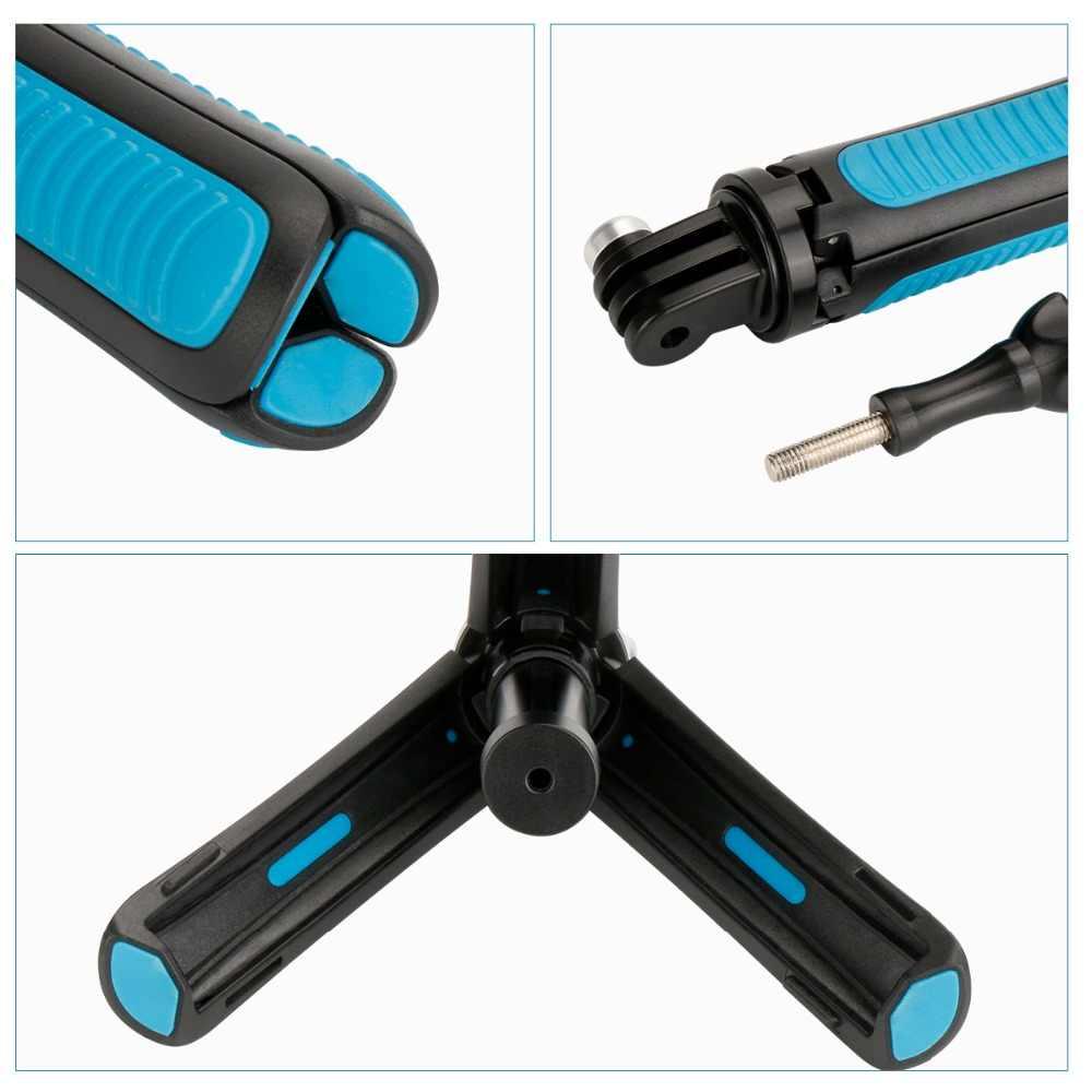 Штатив Gopro селфи палка ручной металлический выдвижной 2 в 1 монопод для Gopro Hero 6 5 4 3 SJCAM Xiaomi Yi 4 K