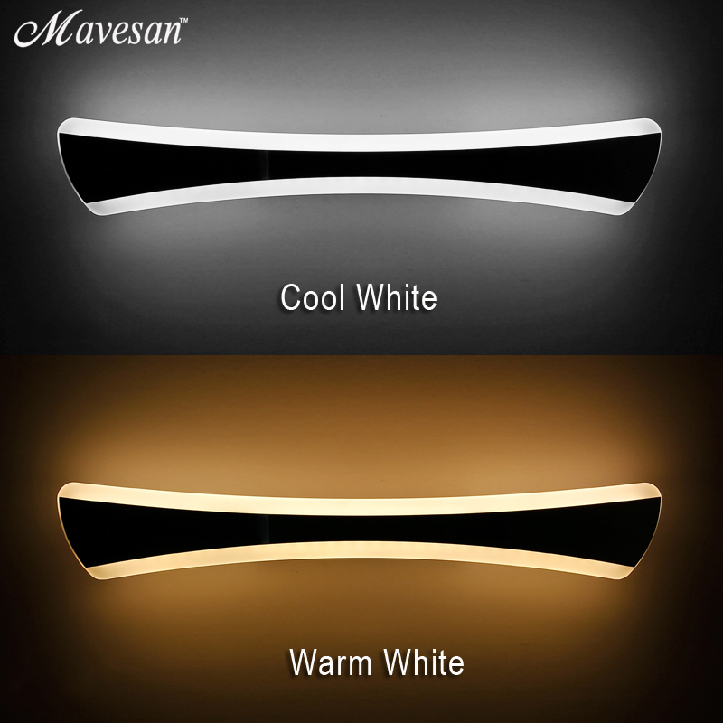 14W-20W 400-530mm Modern Bathroom Led Mirror Light Indoor Waterproof Led For Bathroom Wall Sconce Lamp Apliques De Pared Luz