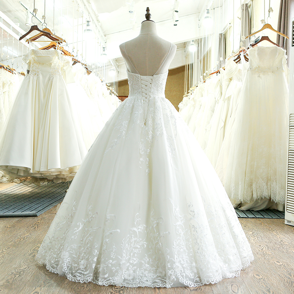 SL 220 High Quality A Line 2017 Vintage Wedding Dress China-in Wedding Dresses from Weddings & Events    2