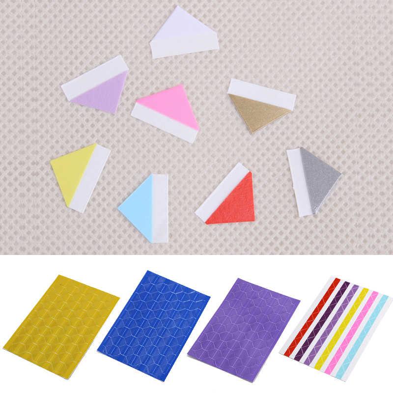 1 גיליון = 102 יחידות PVC מדבקות DIY צבעוני פינת Scrapbook נייר אלבומים תמונות מסגרת תמונה קישוט