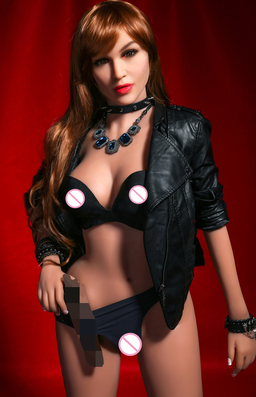 Image 5 - Yannova 68# 165CM Large breasts real silicone sex doll man realistic vaginal oral ass TPE and metal skeleton sexy beauty dollSex Dolls   -