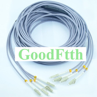 4 النواة الألياف المدرعة المدرعة التصحيح الحبل LC-LC المتعدد 50/125 OM2 GoodFtth 10-50 m
