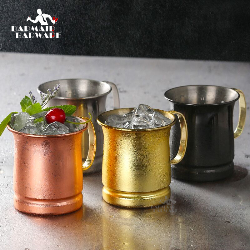 Brass Plate Stainless Double Wall Mug Cup For Moscow Mule Wine /& Tumbler Coffee