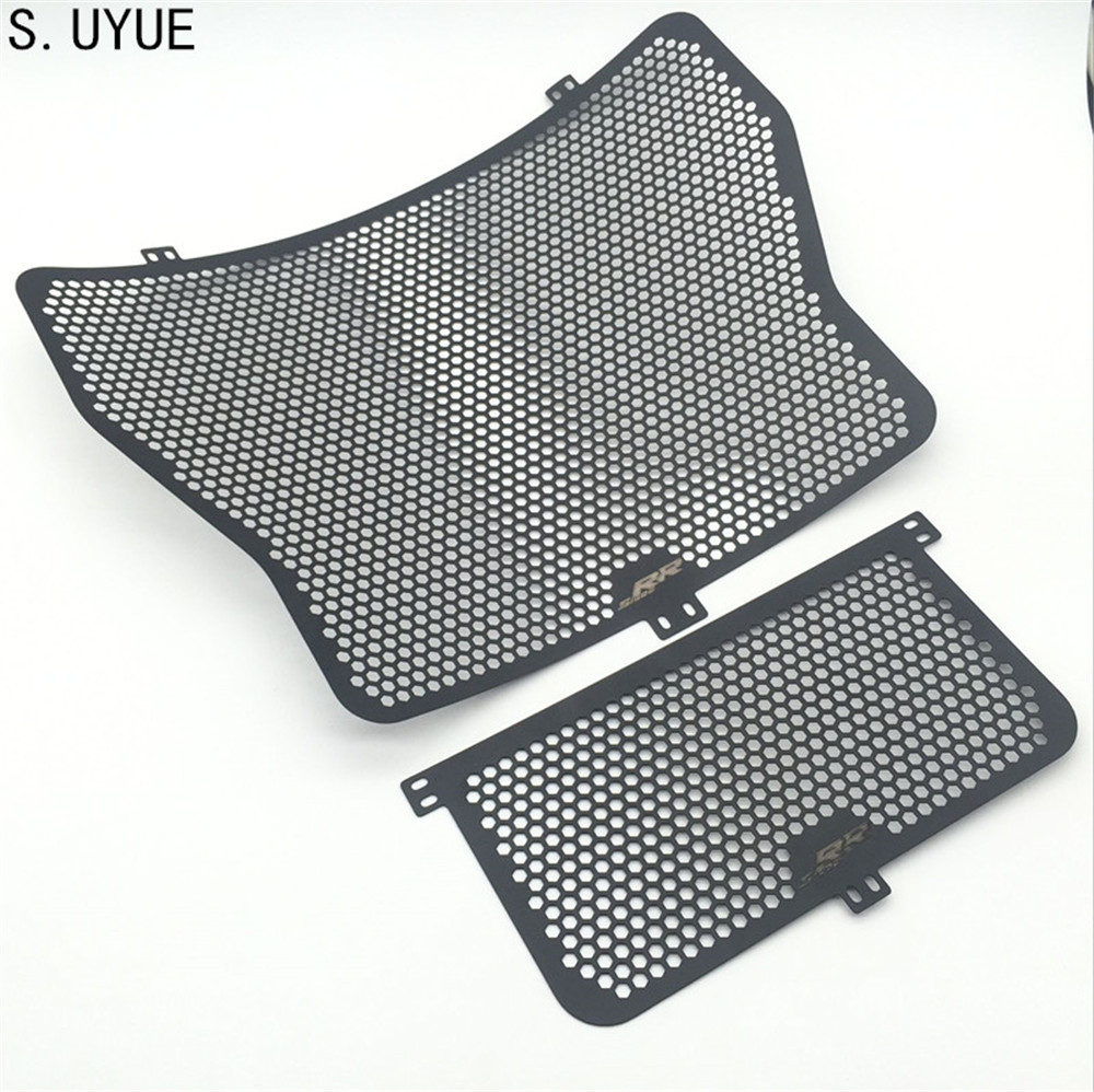 S.UYUE Aluminium Radiator Side Guard Grill Grille Cover Protector for BMW HP4 S1000RR 2014-16 S1000R 2013-2016 S1000XR 2013-2016 motorcycle radiator protective cover grill guard grille protector for bmw hp4 s1000r s1000rr s1000xr