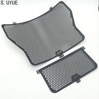 Aluminium Radiator Side Guard Grill Grille Cover Protector For BMW HP4 S1000RR 2014 16 S1000R