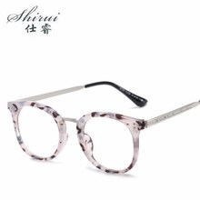 Mens Womens Nerd Glasses Clear Lens Eyewear Unisex Retro Eyeglasses Spectacles Hot Sale 2019 Newest Trend Colourful