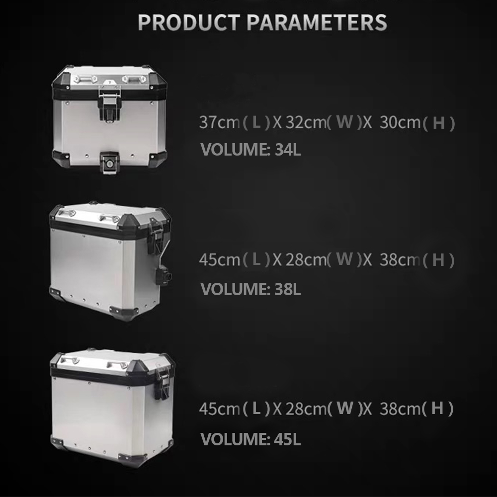 Image 3 - For R1200GS ADV LC R1250GS/ADV LC 2014 2019 Motorcycle Panniers Saddlebag Top Case Box Stainless Steel Orignal Style-in Covers & Ornamental Mouldings from Automobiles & Motorcycles