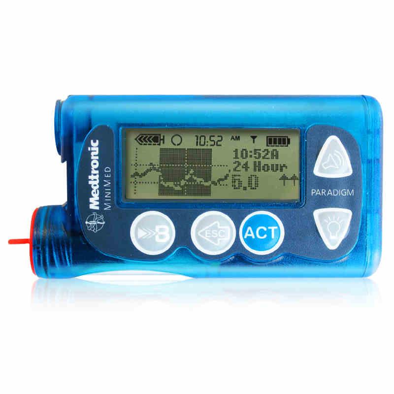 Medtronic Insulin Pump MMT-712 Insulin Pump Blood Glucose Supplies