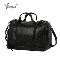 Vintage Casual Leather Handbags New Fashion Women Totes Ladies Purse Clutches Famous Sport Brand Shoulder Motorcycle