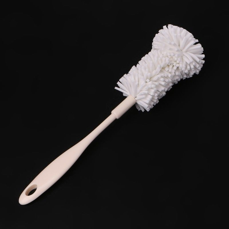 Sponge Cleaner Long Handle Brush Glass Bottle Cup Home Kitchen Wash Cleaning Hot