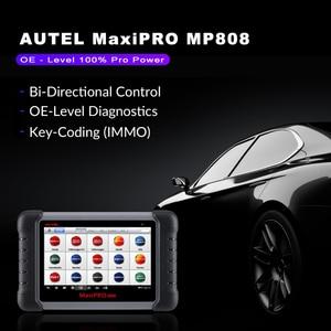 Image 4 - Autel MaxiPRO MP808 OBD2 เครื่องสแกนเนอร์ OBDII เครื่องอ่านรหัสเครื่องมือวินิจฉัยสแกนเครื่องมือการเข้ารหัสเป็น Autel MaxiSys MS906 DS808
