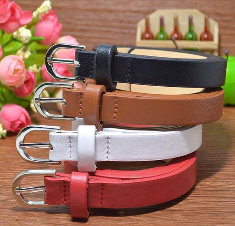 New Hot Sale Designer Kids Belt Strap Fashion Pu Leather Children Belt Boys/girls Pin Buckle Pants Belts Waist Belt