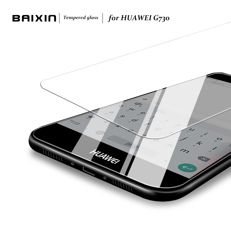 Baixin Screen Protector For Huawei Ascend G730 Tempered