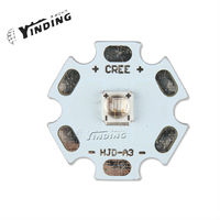 1pcs LEDEngin LZ1 Ultraviolet UV Purple 390/400/410NM 3W Hight Power LED Emitter Chip Lamp Light Blub