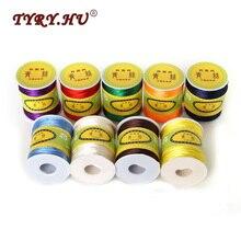 TYRY.HU 80M/Roll 1.5mm Nylon Cord Universal Thread for DIY Jewelry/Teething Toys Satin Silk Rope Baby Teether Basic Accessories